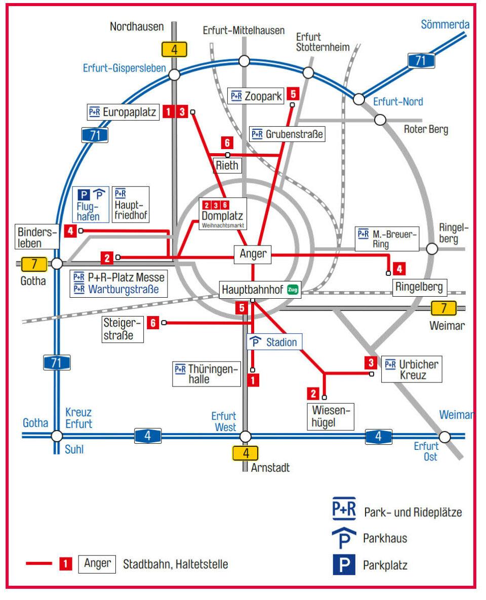 Anreise Zur Insel Wangerooge Mit Dem Auto Pkw: Erfurter Weihnachtsmarkt