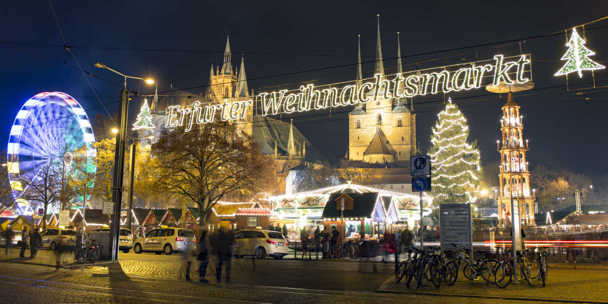 The official Erfurt Christmas Market